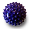 AOK Trigger Point Ball 10cm - Purple